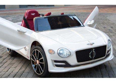 Coche eléctrico para niños Bentley EXP 12V con control remoto, 1 plaza
