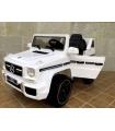 Coche eléctrico infantil todoterreno Mercedes Benz G63AMG con control remoto, 1 plaza