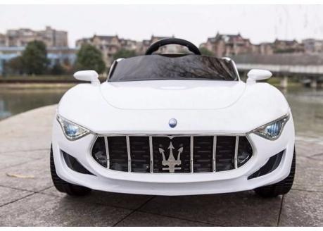 Maserati Alfieri con MP4  12V con control remoto, 1 plaza.