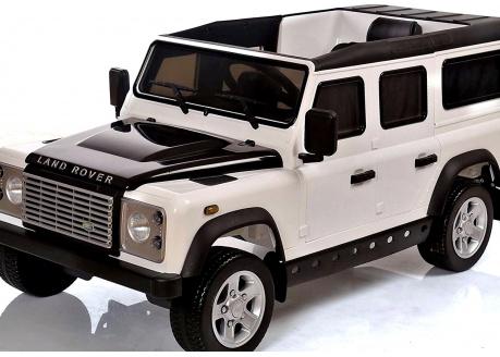 Land Rover Defender 12V con control remoto, 1 plaza
