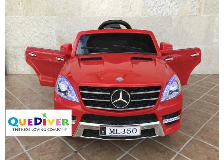 Mercedes infantil ML-350 12v con control remoto, 1 plaza