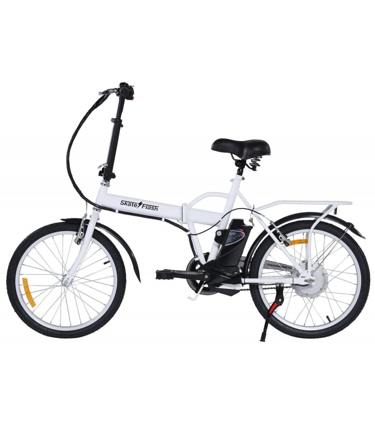 bicicleta el u00c9ctrica skateflash 24v 250w