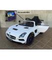 Coche eléctrico infantil Mercedes Deportivo SLS 2018 MP4 12V con control remoto, 1 plaza
