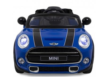 Coche eléctrico infantil Mini Hatch/Cooper con control remoto, 1 plaza.