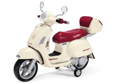 Moto eléctrica VESPA infantil PEG PEREGO 12V ref. mc0019