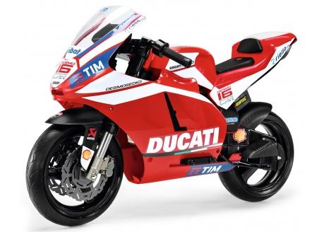 Moto infantil eléctrica Ducati Peg Perego 12v ref. mc0020