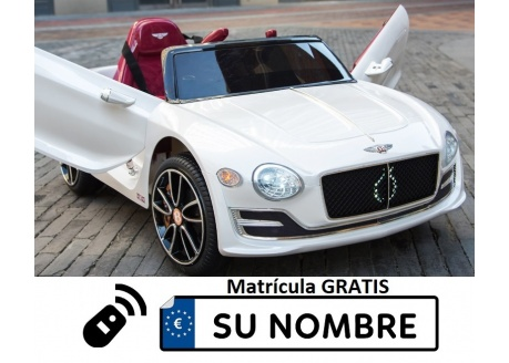 Bentley EXP 12V con control remoto, 1 plaza