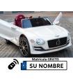 Bentley EXP 12V con control remoto, 1 plaza