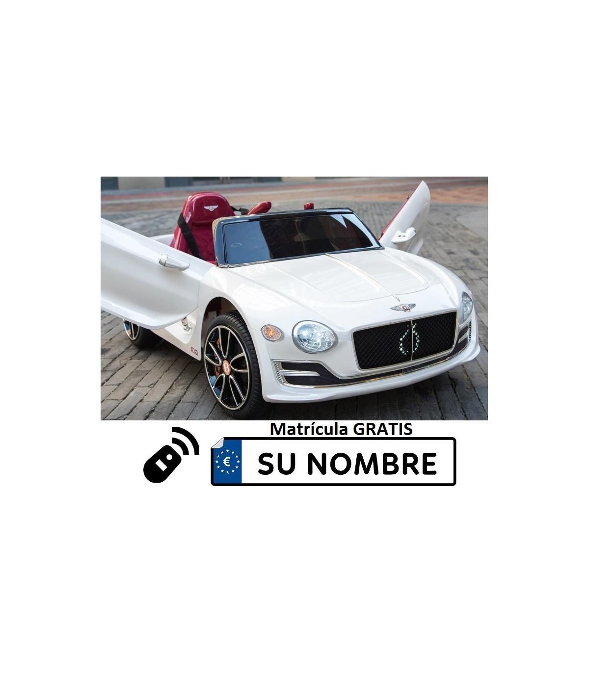 Plaza Control Remoto1 Coche 12v Con Eléctrico Niños Exp Para Bentley rsxtdhQC