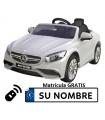 Coche eléctrico infantil Mercedes Roaster S63 12V con control remoto, 1 plaza