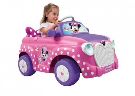 FEBER MINNIE CAR 6V