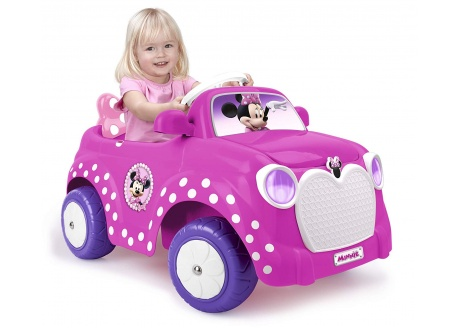 FEBER MINNIE CAR 6V CON MANDO
