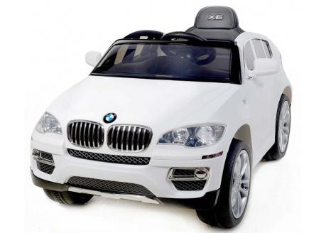 Coche eléctrico para niños BMW X6 12V con control remoto, 1 plaza EXPOSICIÓN-sólo para recoger en tienda