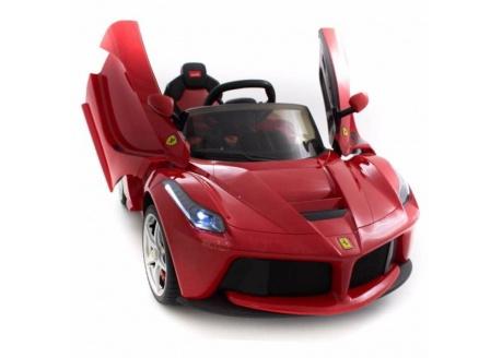 Coche eléctrico para niños Ferrari LaFerrari 12V con control remoto, 1 plaza EXPOSICIÓN-sólo para recoger en tienda
