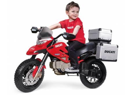 Moto eléctrica infantil Ducati Enduro Peg Perego ref. igm0023