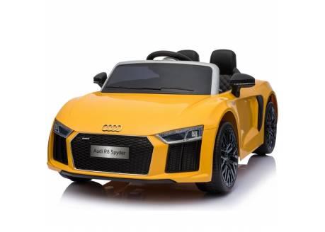 Coche eléctrico para niños Audi Litle R8 Spider 12V con control remoto, 1 plaza