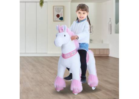 Ponycycle unicornio rosa Mediano ref. U402