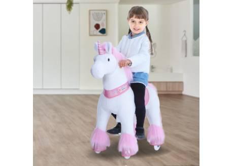 Ponycycle unicornio rosa Mediano ref. U402
