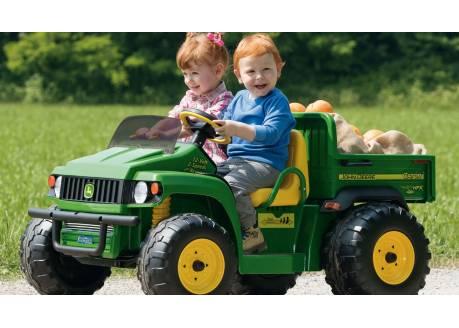 Tractor eléctrico infantil John Deere Gator HPX ref. OD0060