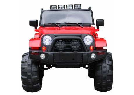 Jeep Quediver eléctrico 12V con control remoto, 1 plaza