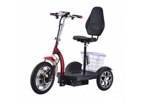 Urban stroller 1000W / 48V / 15AH / litio - triciclo eléctrico movilidad reducida