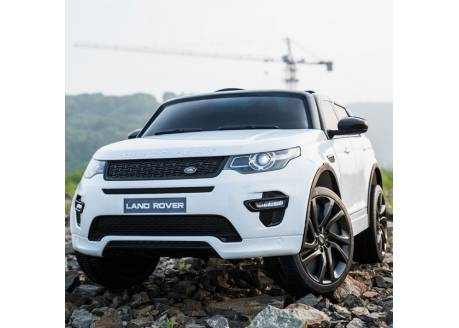 Land Rover Discovery 12 V con control remoto con MP4, 1 plaza